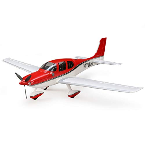 - E-flite UMX Cirrus SR22T Ultra Micro RC Airplane BNF Basic (Transmitter, Battery and Charger Not Included)
