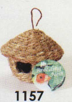 Prevue Pet Products Finch Round Bird Hut, My Pet Supplies