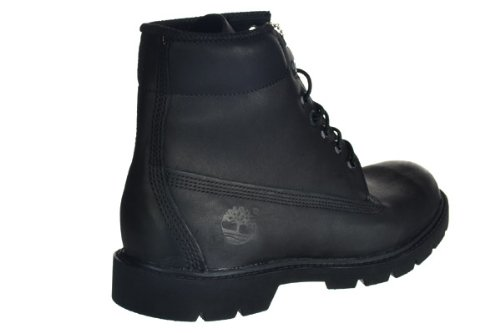 Timberland Heren 6 Inch Basic Laarzen Zwart Leer
