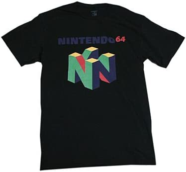 NINTENDO64 ロゴTシャツ Mサイズ [並行輸入品]