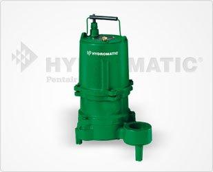 Hydromatic SHEF100M4 1 HP, 3 Phase, 460 Volt, Cast Iron Effluent Pump, 20' Power Cord ()