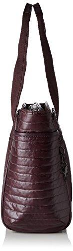 H Femme Kipling x T Shopper Orinthia B cm 43x27x14 Aubergine Violet x 7w6w0SOx