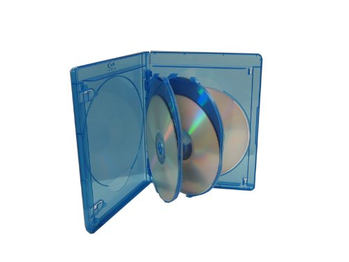 BLU-RAY MULTI CASE (HOLDS 5 DISCS) VIVA ELITE (Pack of 5) BRC-10065