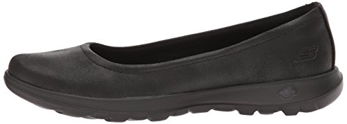 Skechers Performance Women's Go Walk Lite-15395 Ballet Flat, Black, 10 M US by Skechers (Image #5)