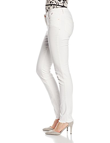 H.I.S Jeans Skinny Cherry Mujer Blanco (damage wash 9004)
