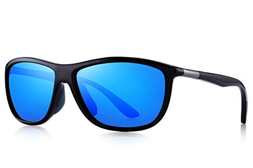 MERRYS Polarized Sports Sunglasses Driving Glasses Shades for Men Unbreakable Frame for Cycling...