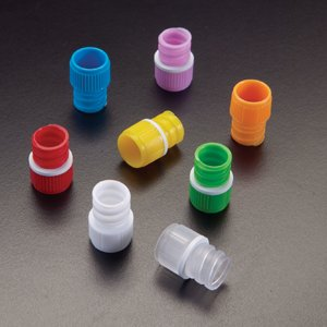 Screw Cap With 0-Ring For T500 Internal Thread Tubes, Natural - 1000/Case by Simport (Image #1)