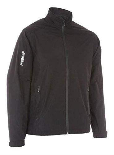 2016 PROQUIP Aquastorm PX1 Waterproof Lightweight Full Zip Mens Golf Jacket Black XXL by ProQuip