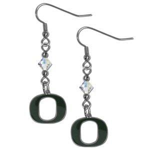 NCAA Oregon Ducks Crystal Dangle Earrings