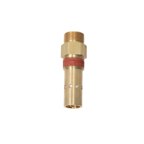3//8 x 1//2 400 Degree F Max Temperature Double Tap 1//8 NPT Tapped Port 450 psi Max Pressure Midwest Control C3850TT In-Tank Check Valve Compression Inlet x MPT Outlet