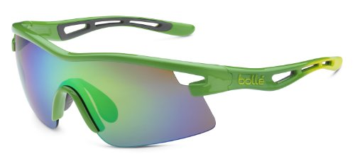 Edge Bolle Sport (Bolle Vortex Sunglasses, Green Edge Frame, Brown Emerald Lens)