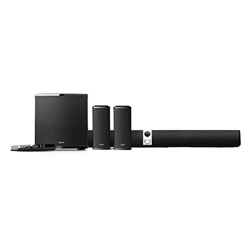 Edifier S90HD 4.1 Channel Soundbar Home Theatre System w/Dolby Surround & DTS – Wood