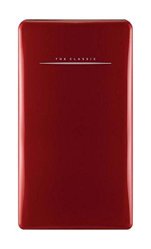 bkitchen cool 120 rt Retro Kühlschrank, 120L, A++, rot Kühlgerät Standgerät