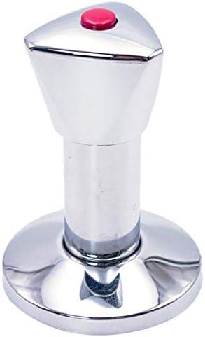 Ventil-Aufputzset f/ür Kalt-//Warmwasser bestehend aus H/ülse mit Spindel Rosette Griff 70 mm