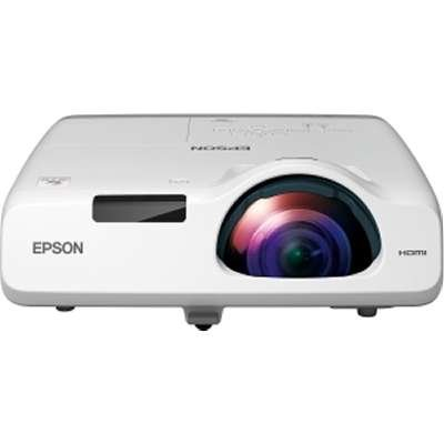 EPSON V11H674020 Powerlite 520 3LCD Projector XGA 16K:1 4:3 2700 Lumens Ethernet 240V