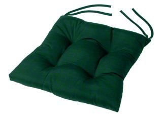 green chair cushions sunbrella tufted dining chair cushion 16quot source pad amazoncom 16