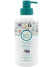 Boo Bamboo Baby Natural Shampoo Body Wash, 600 Milliliters