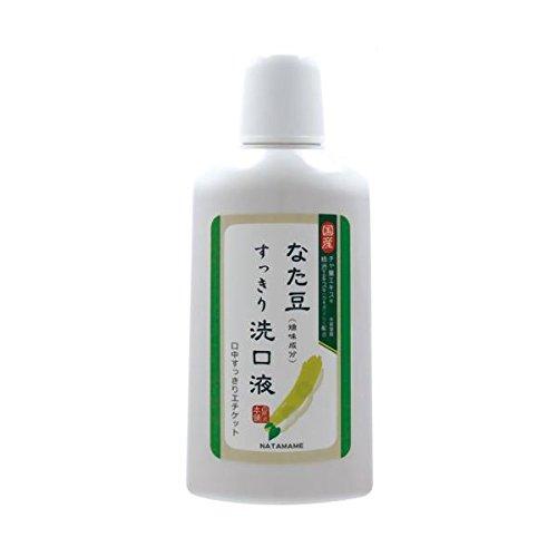 除去マージ冷ややかな《セット販売》 なた豆すっきり洗口液 なた豆 洗口液 (500ml)×2個セット