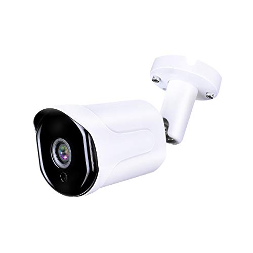 HDView 2.4MP 4-in-1 (HD-CVI/TVI/AHD/960H) Bullet Security Camera 3.6mm Lens Weatherproof IP66 Smart IR Night Vision Anti IR Reflection 30fps@1080P COC OSD Outdoor CCTV Camera for Home Surveillance