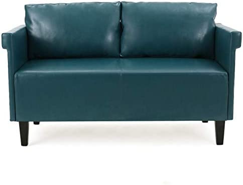 Christopher Knight Home Bellerose Leather Settee