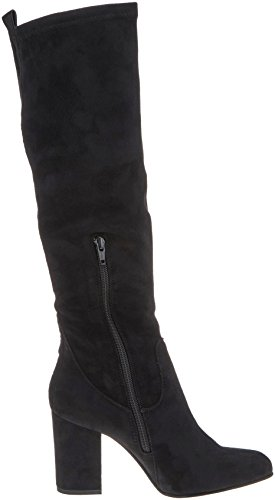 PMS 01001 Bendle Cavalieres Femme Noir Highboot Bottes Unlined Black U1vxqwZUf6