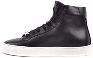 Philipp Plein Luxury Fashion Homme SMSC1245PLE075N0291 Noir Cuir Baskets Montantes | Saison Outlet