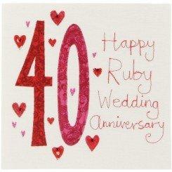 happy anniversary 40