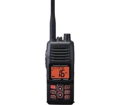 Standard Horizon HX400 W/SBR-29LI, Handheld VHF Marine Radio ()