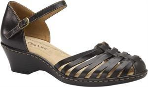 Softspots Women's Tatianna Black Leather 6.5 W US
