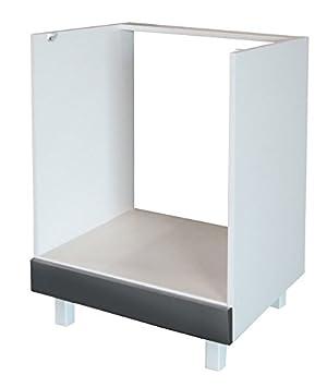 Berlenus CF6BG - Mueble bajo de cocina para el horno (60 cm), color ...