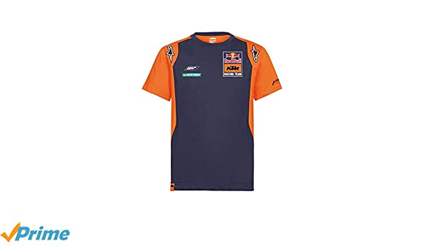 Red Bull KTM Official Teamline Camisa Polo, Azul Hombres Camiseta ...
