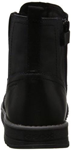 Geox Unisex-Erwachsene J Wong Boy C Chelsea Boots Schwarz (Black)