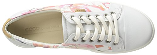 EccoECCO SOFT 7 LADIES - Zapatillas Mujer Blanco (WHITE FLORAL PRINT/WHITE/POWDER59768)