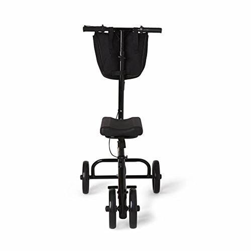 Healthcare Direct 100KW Steering Knee Walker with Hand Brakes, Basket Adjustable Height by Healthcare Direct (Image #1)