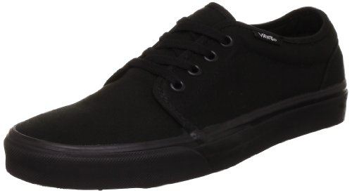 Vans U 106 Vulcanized, Baskets mode mixte adulte Noir (Black)