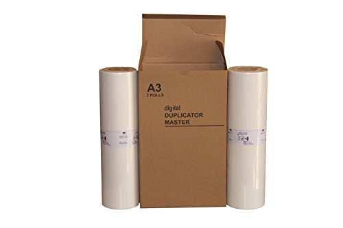 Compatible Master Risograph (2 Wholesale Widgets Brand A3 Masters, Compatible with Riso S-3549 RP07 for use in Risograph FR3910, FR3950, RP3100, RP3105, RP3500, and RP3505 Duplicators.)