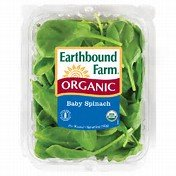 EARTHBOUND FARM ORGANIC SALAD MIX BABY SPINACH BAGGED 5 OZ PACK OF 2
