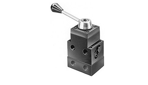 SPX Power Team 9509 Remote Mounted Manual Valve for Single and Double Acting Cylinder, 4 Way, 3 Position Tandem Center