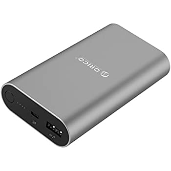 ORICO Portable Charger 10050 mAh Power Bank, External Battery with Quick Charge 3.0 Technology for iPhone, Android, Samsung, Nexus, iPad, and Tablets.