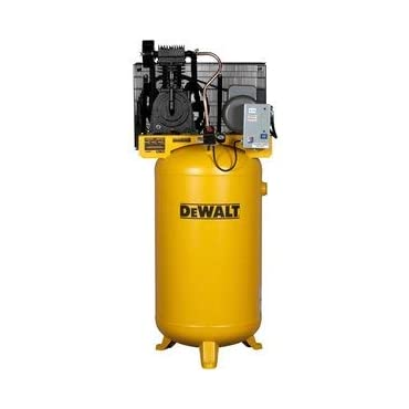 DeWalt DXCMV5018055 5-HP 80-gallon Two Stage Oil-Lube Industrial Air Compressor
