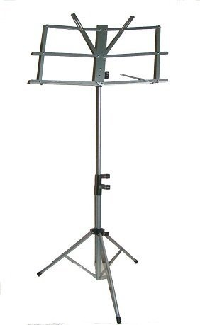 Merano NEW B Flat Gold / Silver Pocket Trumpet with Case+Mouth Piece+Metro Tuner+Black Music Stand by Merano (Image #3)