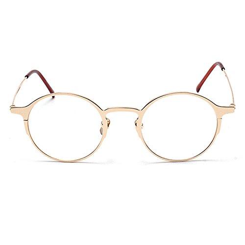 9e4c7ce0526 TIJN Striking Thin Minial Round Frame Eyeglasses for Men Women - Buy Online  in Oman.