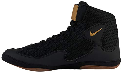 Nike Men's Inflict 3 Wrestling Shoes (Black/Black, 7 D(M) US)