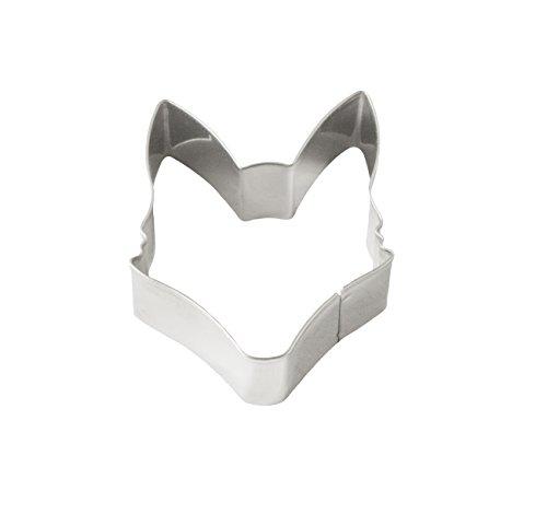 Fox Run 3692 Fox Head Cookie Cutter, Stainless Steel