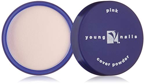 Young Nails Acrylic Cover Powder, Pink, 45 g