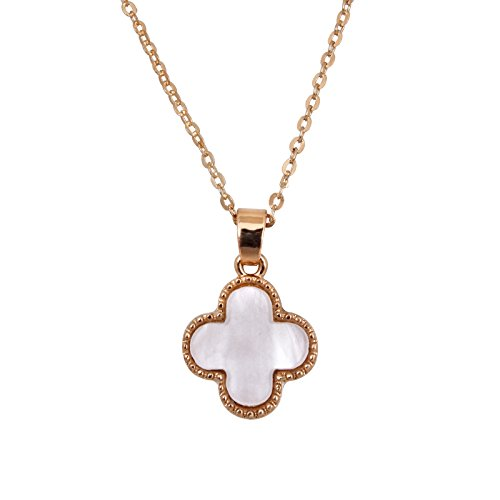 Fasherati white gold plated pendant for girls