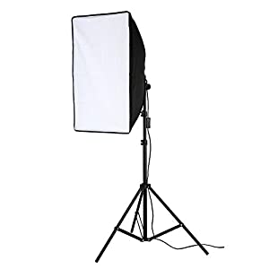 "Lightdow 200W Photographic Equipment 20x28"" Softbox Continuous Output Lighting Photo Studio Soft Light Bundle(Model Number: LD-TZ005)"