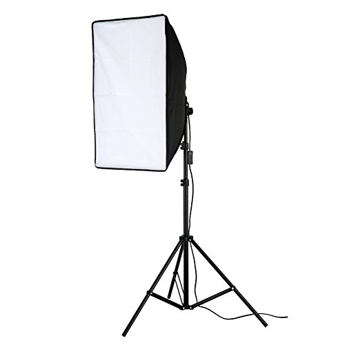 Lightdow 200W Photographic Equipment 20x28'' Softbox Continuous Output Lighting Photo Studio Soft Light Bundle(Model Number: LD-TZ005) by Lightdow