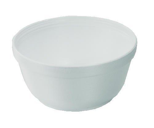 - Dart 12B32 12 oz Foam Bowl (Case of 1000)