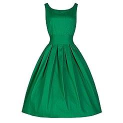 KYLEON Women's Dresses 1950s Vintage Sol...